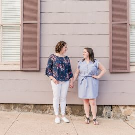 Julie & Julia's Ellicott City Engagement Session