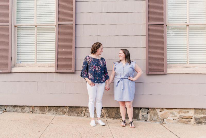 Julie & Julia's Ellicott City Engagement Session