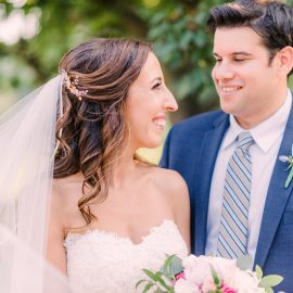Elle & Steven's Botanical Garden Wedding | VA Wedding Photographer