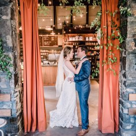 Brittany and Ben's Artifact Coffee Wedding