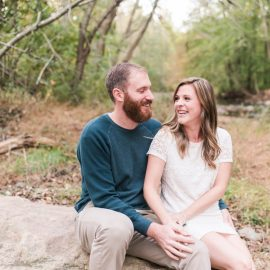 Hollin and Dan get married in one week! | Jerusalem Mill Engagement Session