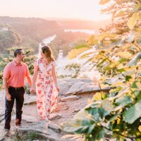 Chelsea & Jon's Harper's Ferry Engagement Session