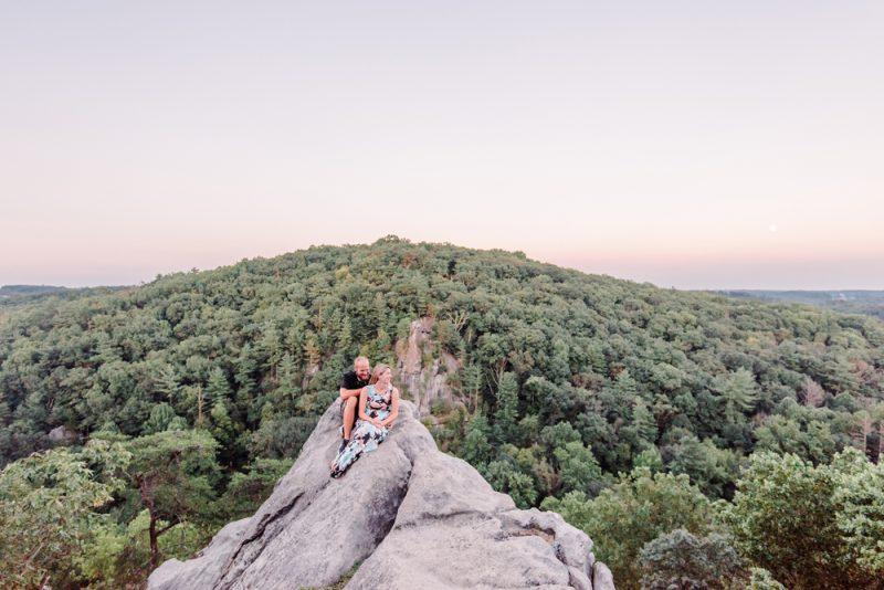 Kelsey & Sam | Rocks State Park + Kilgore Falls Engagement Session