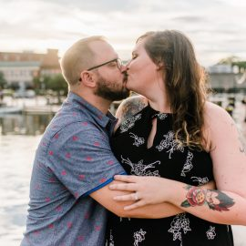 Leigh and Matt are getting married! | Annapolis Wedding Photographer