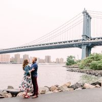 Madeline and Shane's Brooklyn Heights Engagement Session | NY Wedding Photographer