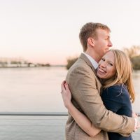 Kelsey & Will | DC Georgetown Fall Engagement Session