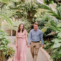 Baltimore Proposal! | Kevin & Christina's Rawlings Conservatory Engagement