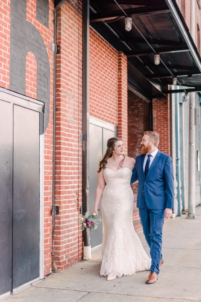 Madeline and Shane's Winter Wedding at the Assembly Room | Baltimore Weddings