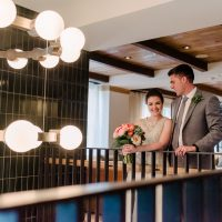 Amanda and Dan's Intimate and Colorful Wedding!