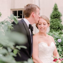 Kelsey & Will's Elegant DC Wedding | Carnegie Institution for Science