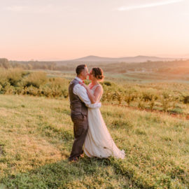 Chelsea and Jon's Dreamy Summer Wedding at the Market at Grelen, VA