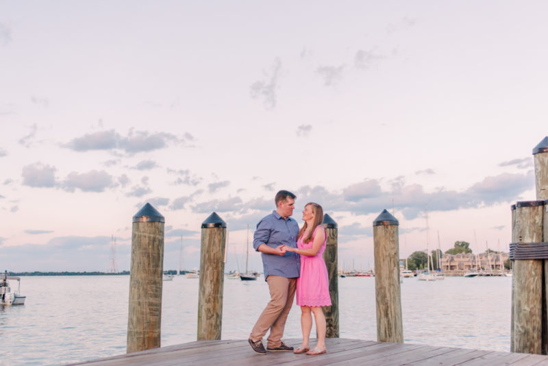 Jessica and Kevin get married this week!! | Annapolis Engagement Session