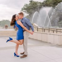 Griffy & Mike are engaged! | Longwood Gardens Engagement Session