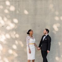 A'rikka and Ethan | Baltimore Wedding Portraits