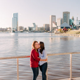 Casey and Sam's Baltimore Engagement Session