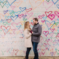 Steph and Andy | DC Engagement Session at Union Market and The Wharf