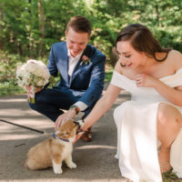 Christina and Kevin | Intimate Ceremony at Quiet Waters Park