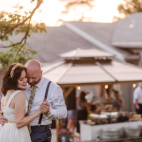 Amber and Jeff's Intimate Ceremony at Grier Nursery