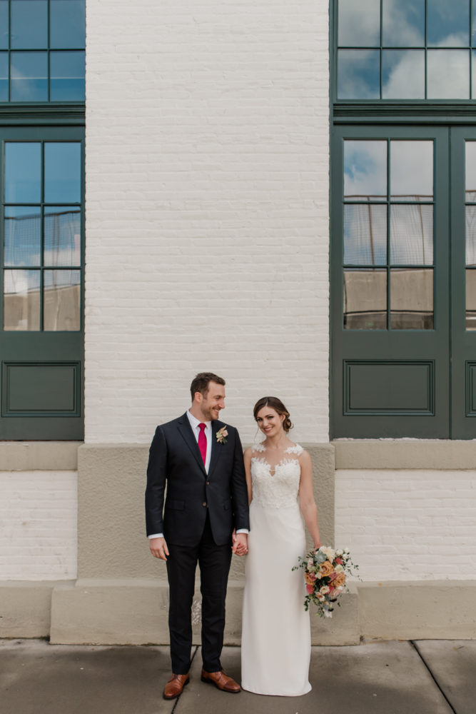 Steph & Andy are Married! | Micro Wedding at The Winslow Room Baltimore