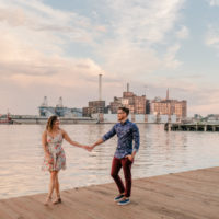 Meagan and Sam | Baltimore Summer Engagement Session