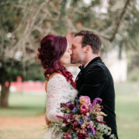 Maggie & Joe's Elegant and Witchy Halloween Wedding!